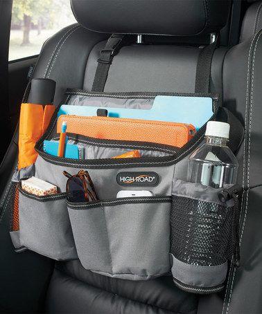 This Gray SwingAway™ Car Seat Organizer is perfect! #zulilyfinds