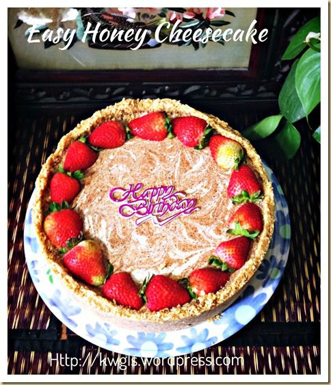 Chilled Honey Cheesecake (免烤蜜糖芝士蛋糕) | GUAI SHU SHU #guaishushu#kenneth_goh  #honey_cheesecake#chilled_cheesecake #no_baked_cheesecake #frozen_cheesecake  #免烤蜜糖芝士蛋糕