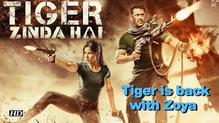 Salman & Katrina with Machine GUNS | Tiger is back with Zoya