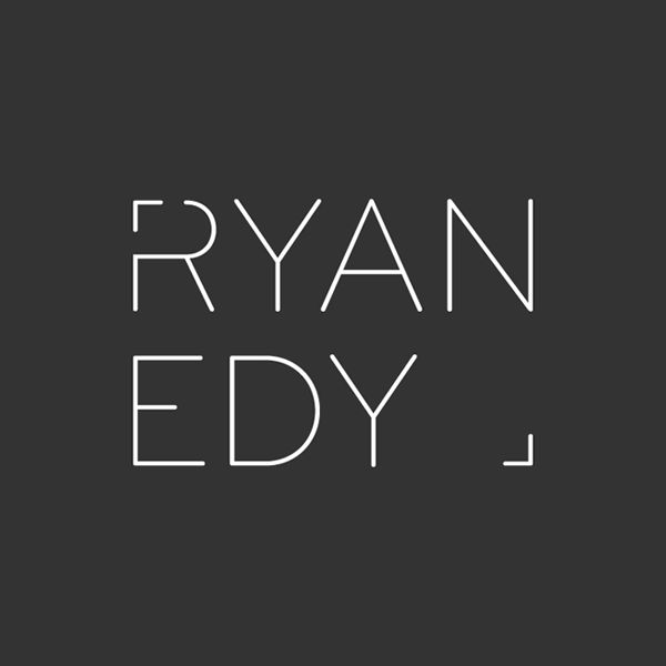 Logotype designed by Founded for photographer Ryan Edy. Reviewed on bpando.org #branding #logo #photographer