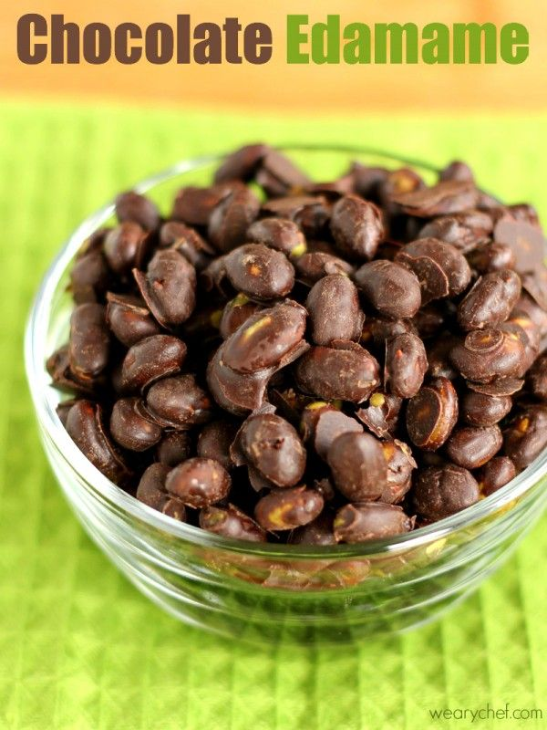 Are you kidding me?? Chocolate Covered Dry Roasted Edamame {Trader Joe's Copycat!}