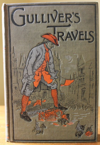 Antique 1915 Gulliver S Travels By Jonathan Swift