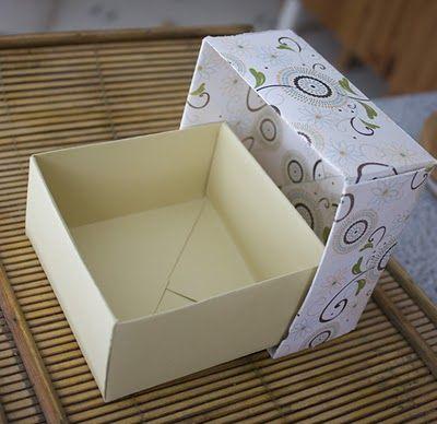 Une petite boite cadeau tout en pliage