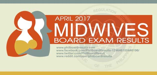 The Professional Regulation Commission (PRC) released the 'list of passers' for 'April 2017 Midwives Board Exam Result' also known as 'Midwife Licensure Examination'. In this article, the full list of passers will be posted here once the official result is set online. PRC together with the Professional Regulatory Board of Midwiferyadministered the midwifeexamination last April10… Read More »