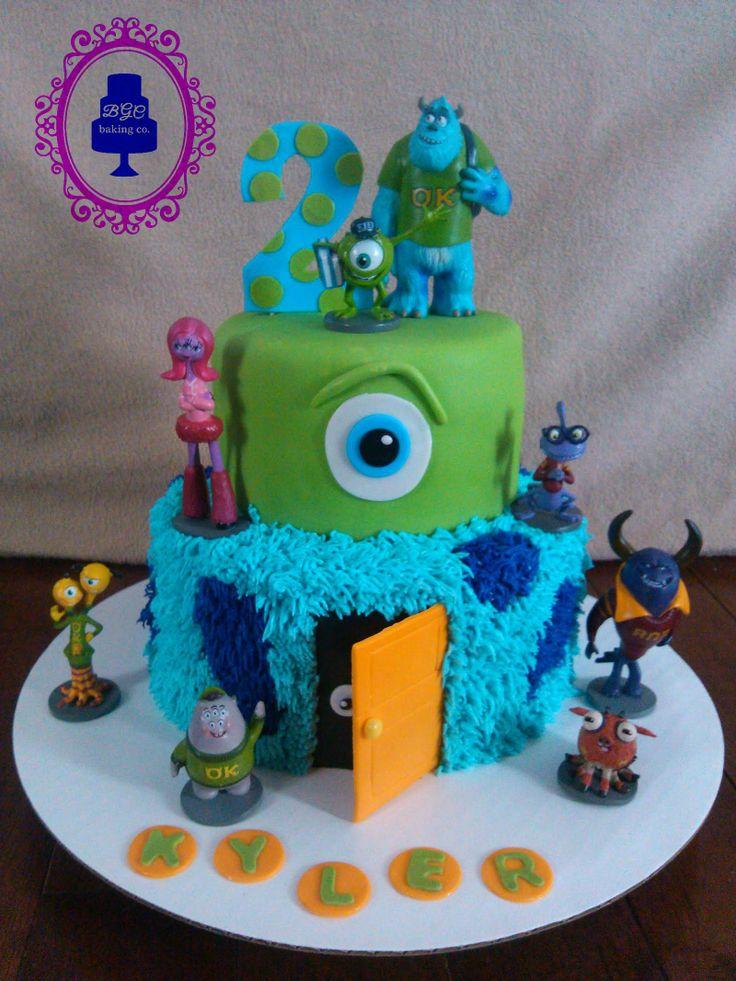 Monsters University Cake My Cake Creations Pinterest