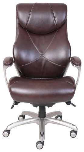 La-Z Boy - Air Bonded Leather Executive Chair - Coffee Brown