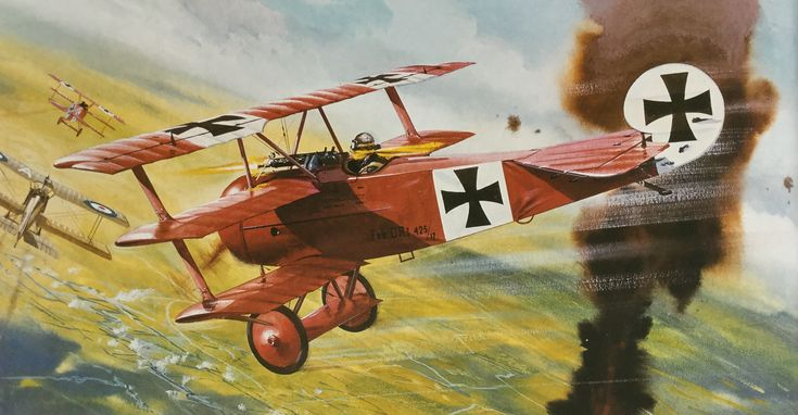 Roy Cross - Fokker Dr1