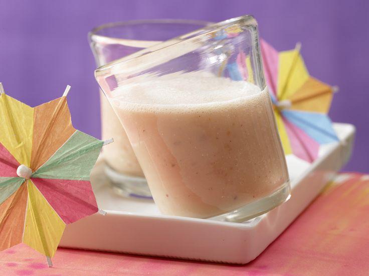 Dieser Drink schmeckt nicht nur Kindern! Buttermilch-Smoothie mit Melone - Kindersnack (1–3 Jahre) - smarter - Kalorien: 93 Kcal - Zeit: 10 Min. | eatsmarter.de