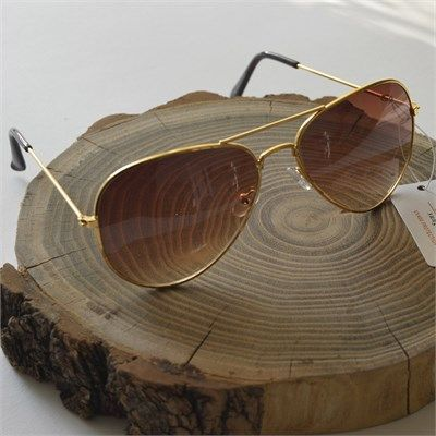 Erkek Yeni Sezon Damla Model Güneş Gözlüğü Kahverengi