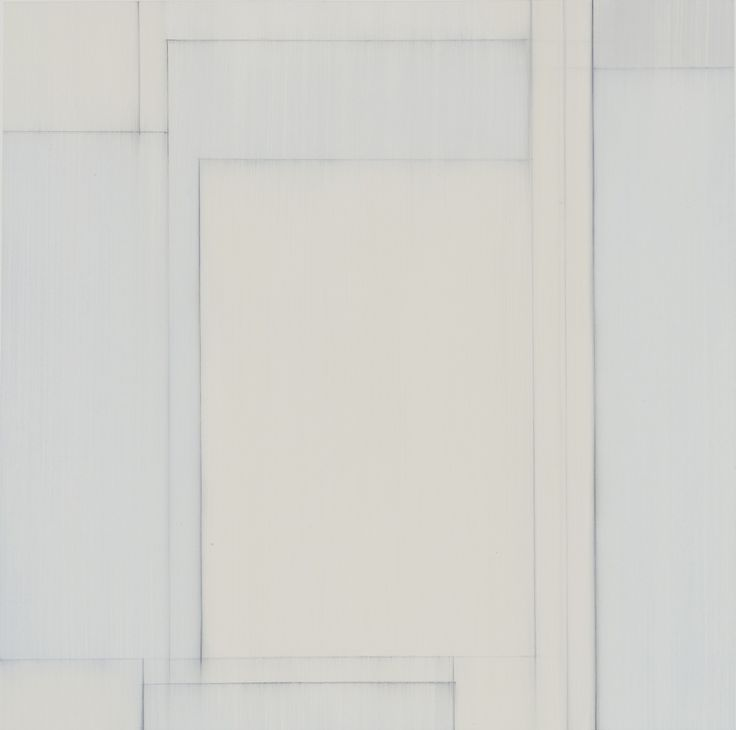 Julian Jackson Other Rooms 6, 2015 Oil and pencil on paper 16 x 16 in paper size 22 x 22 in