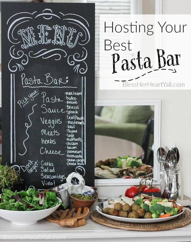 25+ best ideas about Pasta bar on Pinterest | Pasta bar ...