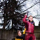 [SELF] My GF and I as cosmic comic power couple Star-lord and Kitty Pryde. ECCC 2017
