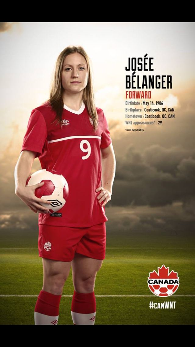 #CanWNT | #FIFAWWC | #CanadaRED | Josée Bélanger |