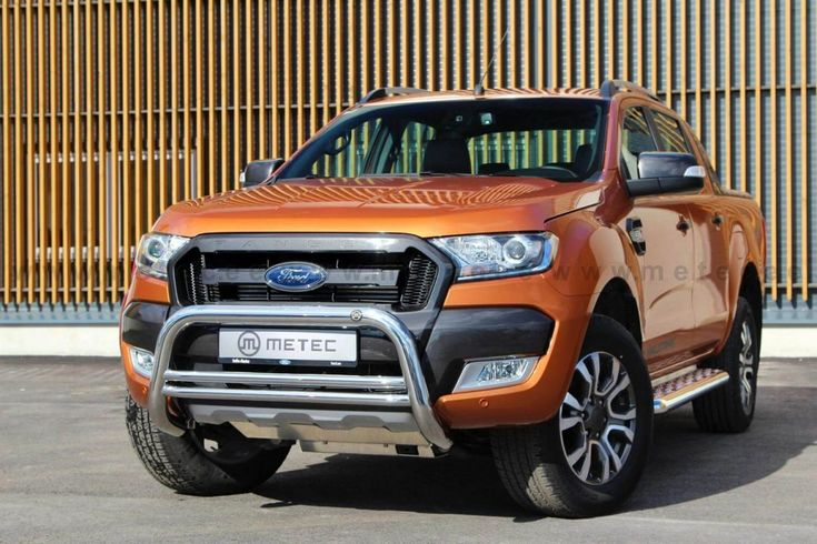 Metec EU godkjent FrontGuard Ford Ranger 2012-