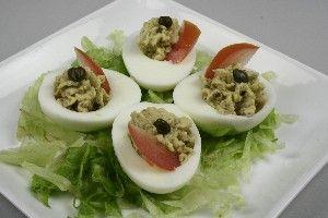 Fyldte æg - Ansjosæg