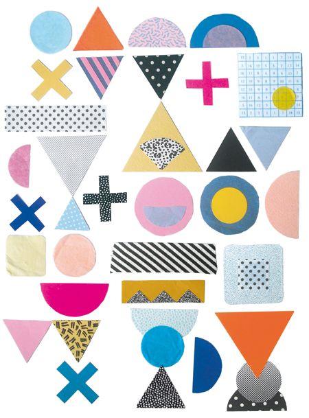 sketchbook page / t-shirt design ~ Beci Orpin