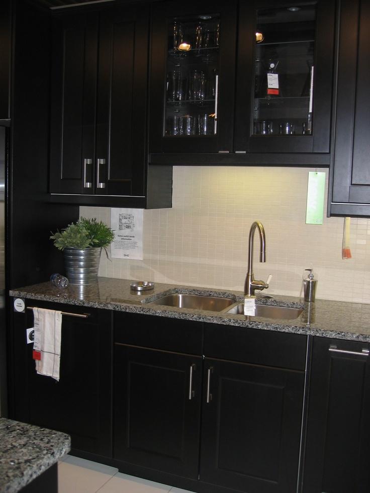 Best Ikea Ramsjo Kitchen Bottom Cabinets W Light Quartz 400 x 300