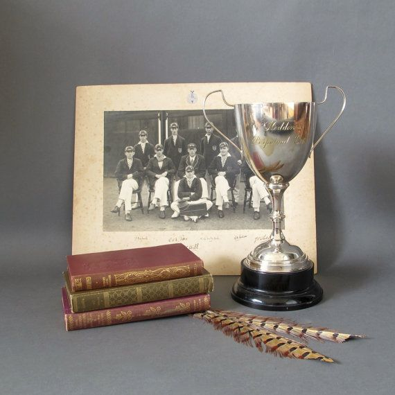 Vintage Sports Trophy from England - Large silver plate EPNS Loving Cup - Vintage English Sporting Trophy