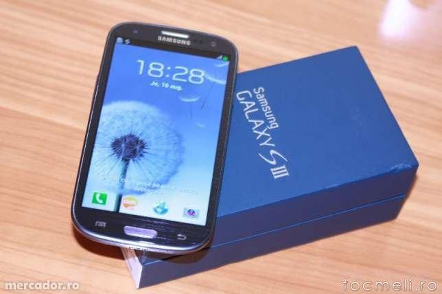 Vand Samsung Galaxy S3 i9300 nou la cutie cu toate accesoriile. Pret Negociabil