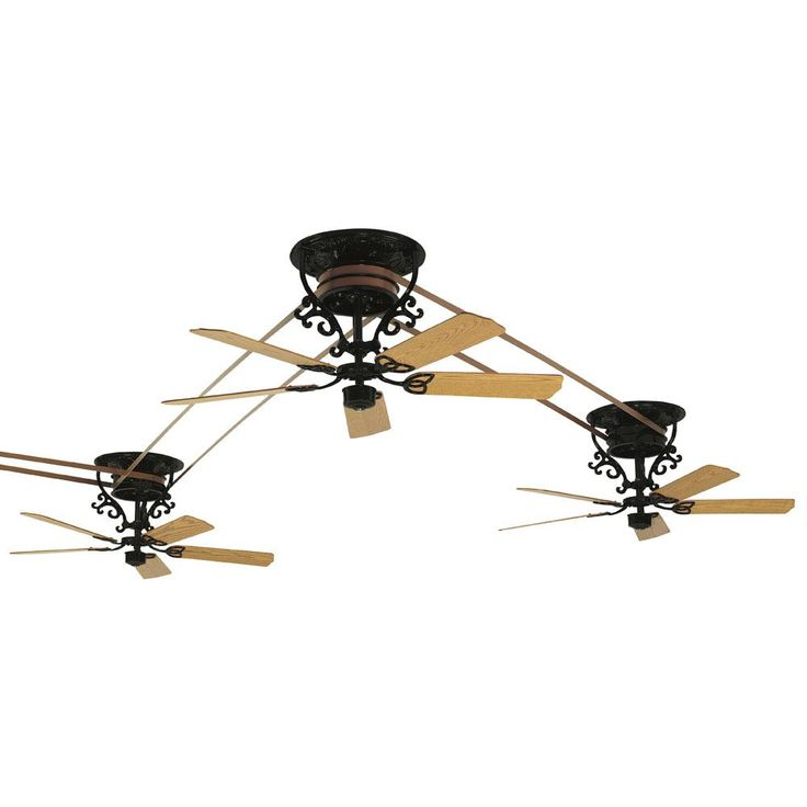 Fanimation - FP510BL sales at Keidel. Ceiling Fans in a decorative BLACK finish