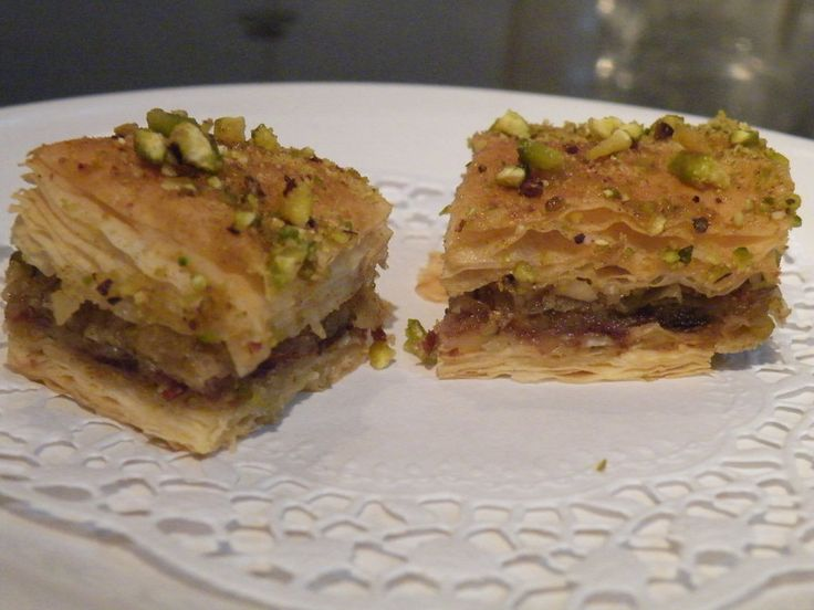 Christmas Baklava by StormRaven333 on DeviantArt