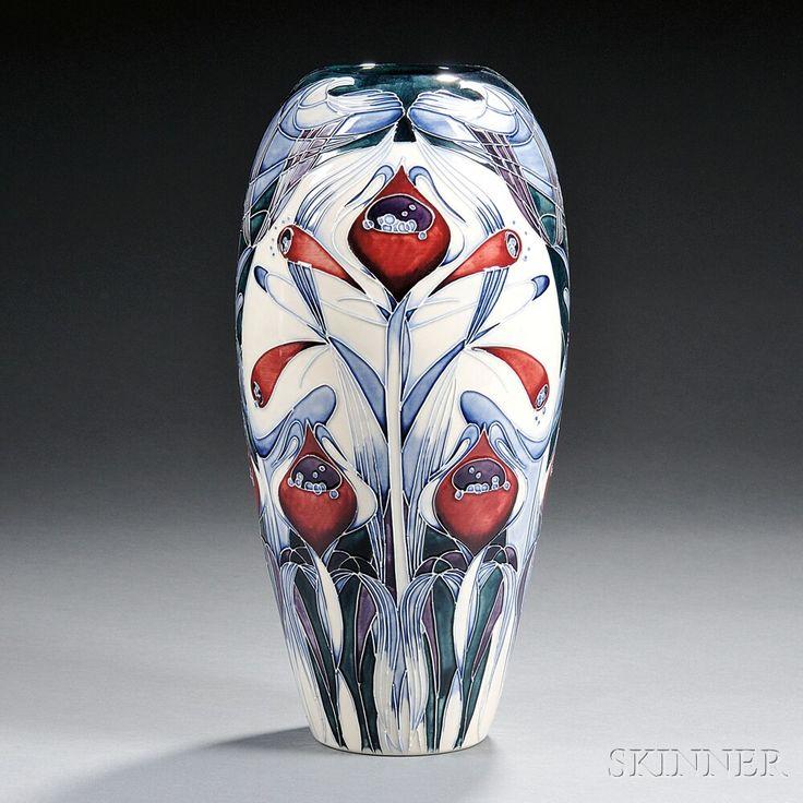 Modern Moorcroft Pottery Vase