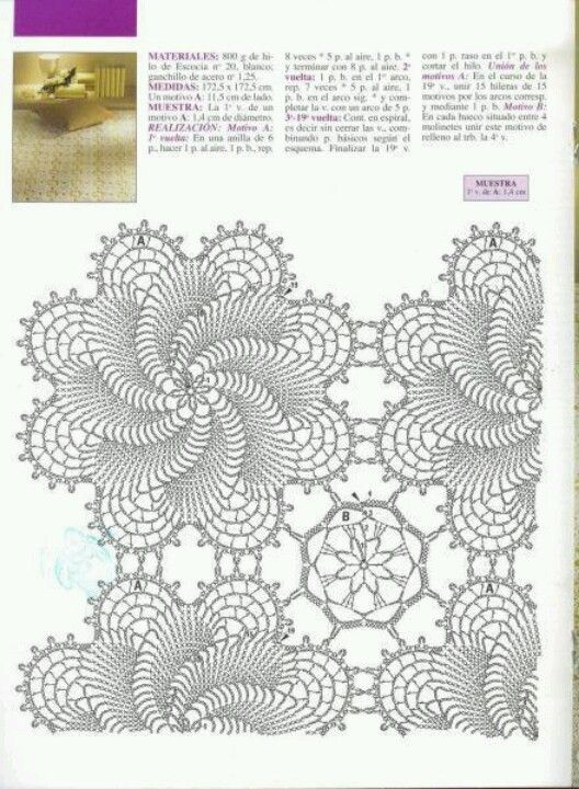 150 Best Crocheted Bedspreads Images On Pinterest Crochet Afghans