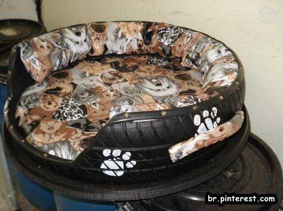 cama+para+c%C3%A3o+e+gato+feita+de+pneu.jpg (564×422)