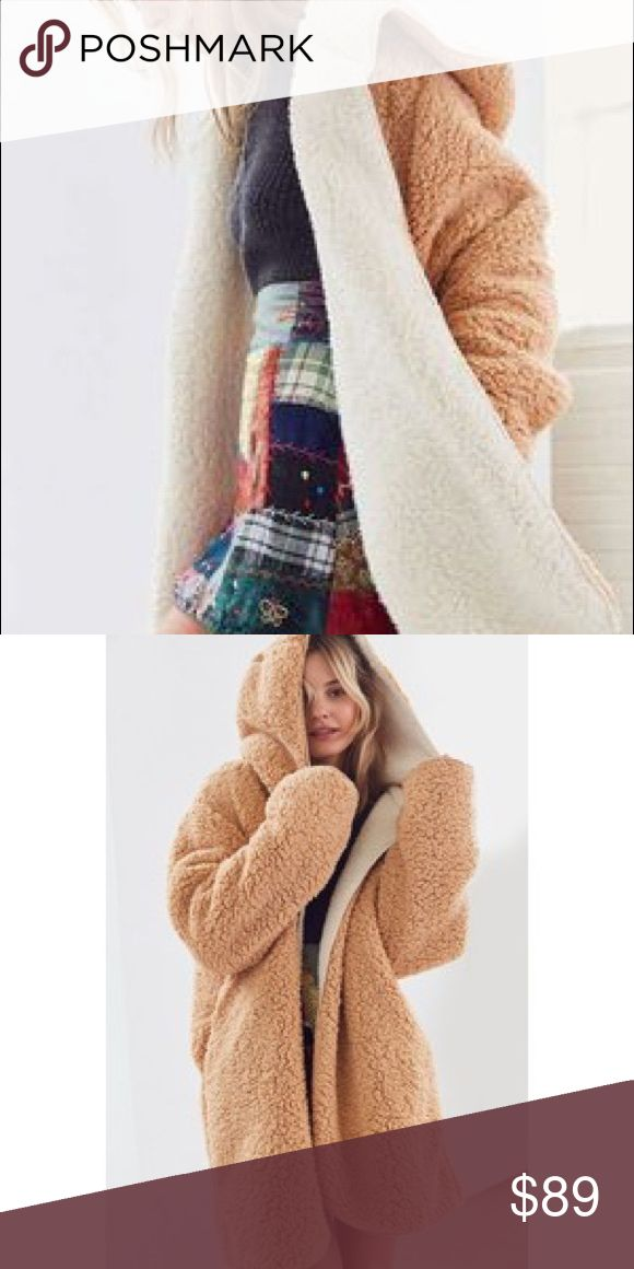 silence + noise magnolia reversible cozy coat LOOKING FOR THIS COAT- not for sale looking to purchase in this color Urban Outfitters Jackets & Coats
