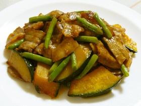 ご飯が進む♫かぼちゃの中華風炒め物♡