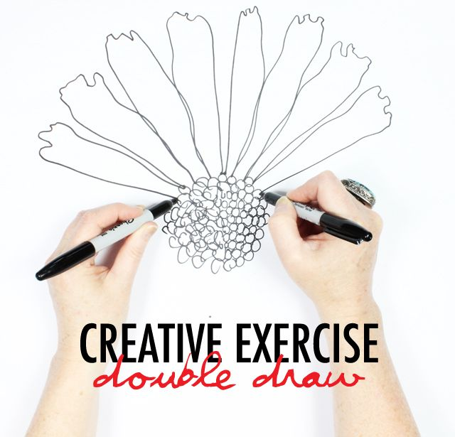creative exercise- double draw                                                                                                                                                     More