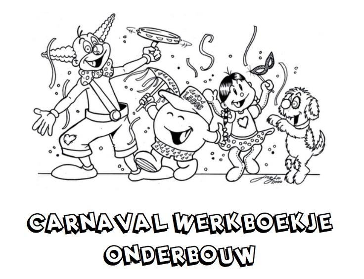 Werkboekje Carnaval (onderbouw)