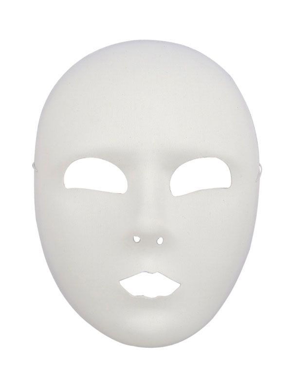 Image Result For Full Face Mask Template Blue Face Mask Full Face Mask White Mask