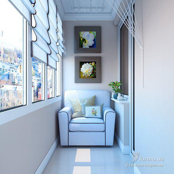 В традиционном стиле, Евгения Анфилова, Лоджия/Балкон, Дизайн интерьеров Formo.ua