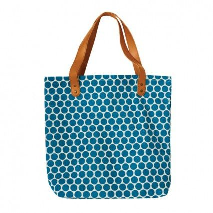 Tote Bag: Green Spot   Urban Nest Design - Nell and Oll