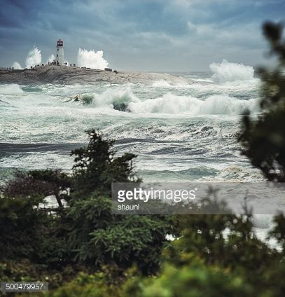 Stock-Foto : Storm Chasers im Lighthouse