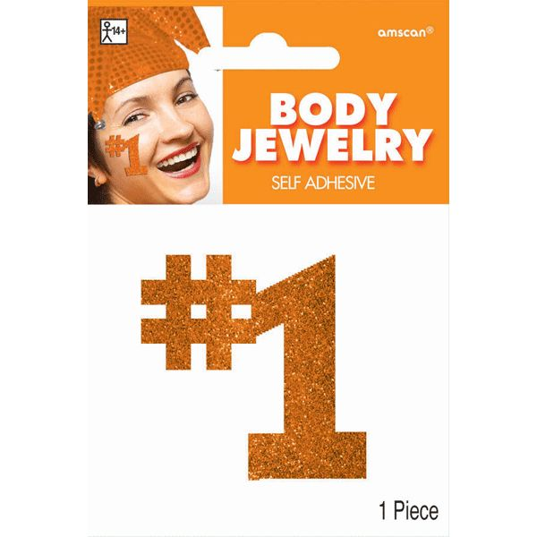 Orange #1 Body Jewelry