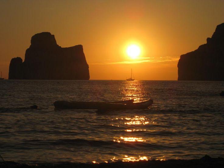 #LaMiaSpiaggia è quella di #PortuCauli al tramonto in #Sardegna! Stupendo ricordo... <3 @vivifromfrance