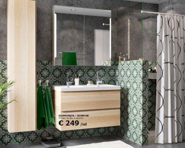 Ideas de baños pequeños con ducha 2016: Echa un vistazo al catálogo de IKEA…