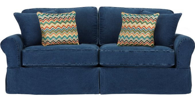 Sleeper Sofas Cindy Crawford Cindy Crawford Home Beachside Blue Sleeper 1296731p Cheap Sofa Beds Blue Loveseat Love Seat