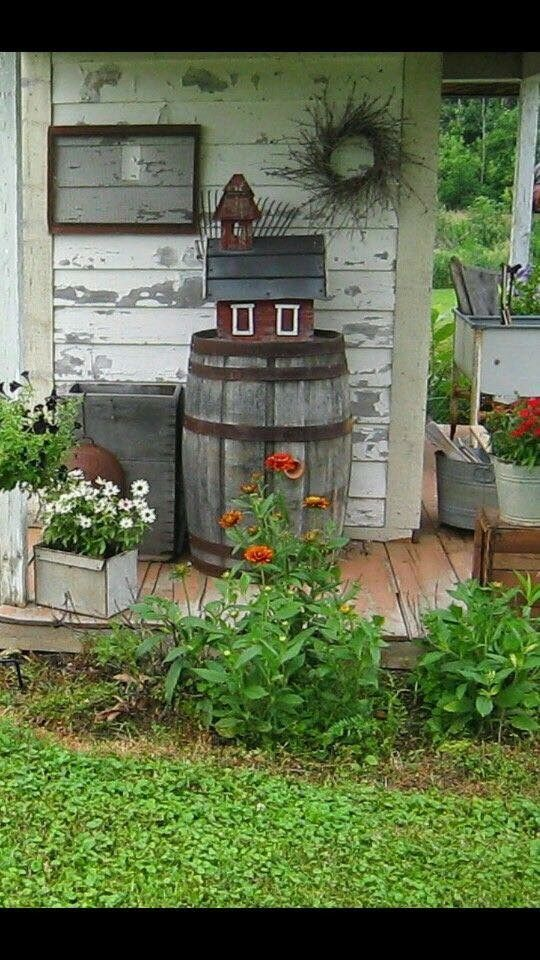 Front Porch Decorating, Country Outdoor Decor