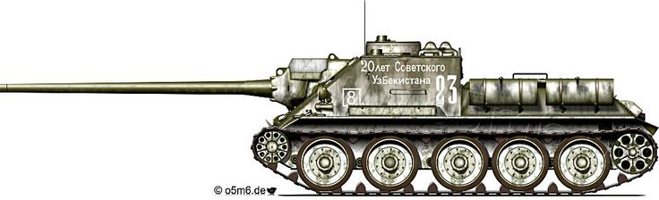 SU-100 Self-Propelled Gun