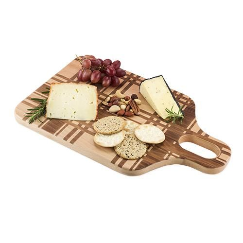 Plaid Beech Wood Chopping Board #cheese #giftideas #giftsforher #kitchen #wishlist