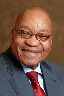 Jacob Gedleyihlekisa Zuma is the President of South Africa