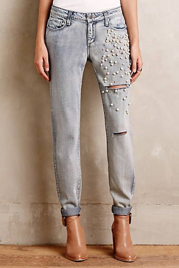Paige Jimmy Jimmy Embellished Jeans
