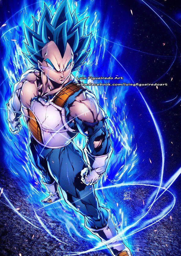 Vegeta Ssj God Blue By Marvelmania Deviantart Com On Deviantart Dragon Ball Artwork Dragon Ball Art Dragon Ball