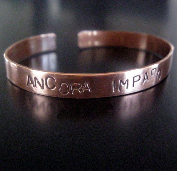 """I NEED THIS. ANCORA IMPARO Italian """"still I am learning"""" Handcut by monaco, $20.00"""