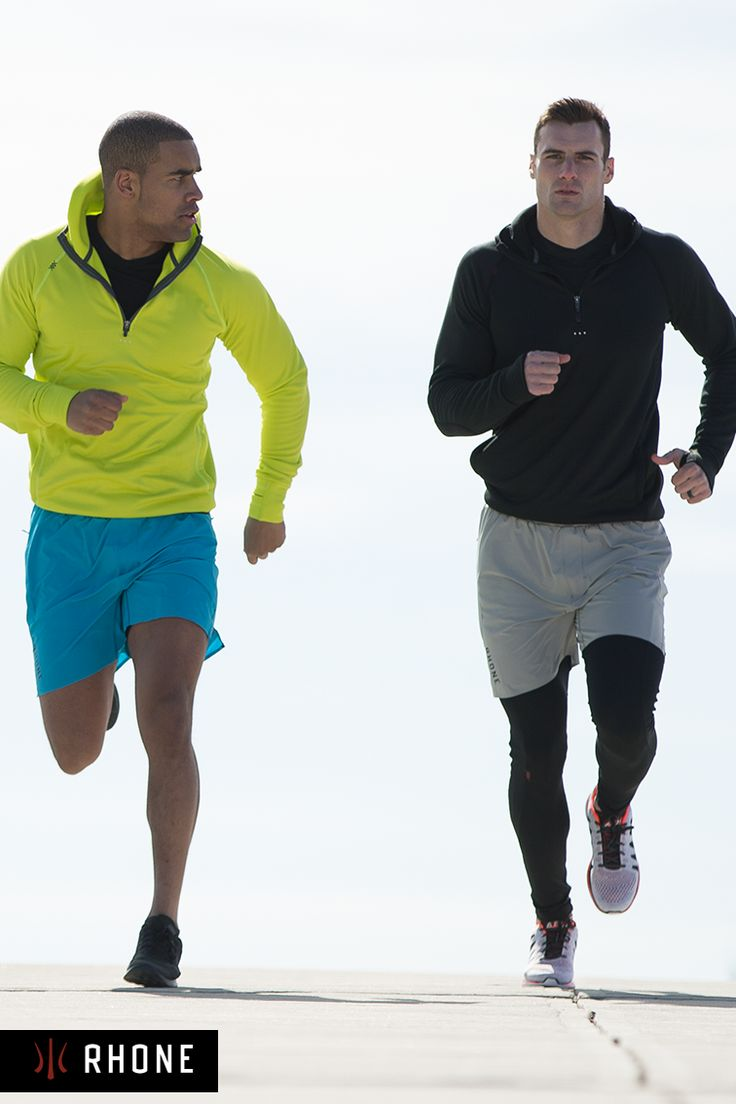 """Made with a 7"""" vented inseam, the Swift short by Rhone was created for multi-sport versatility"""