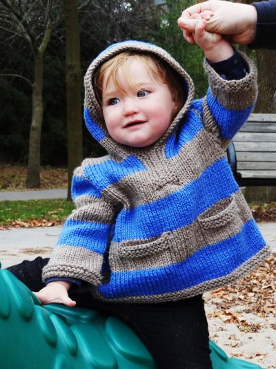 Idaho baby pullover: Knitty Winter bis 2011