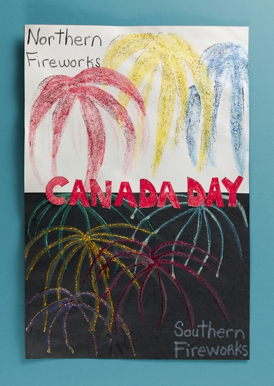 Canada Day Fireworks lesson plan